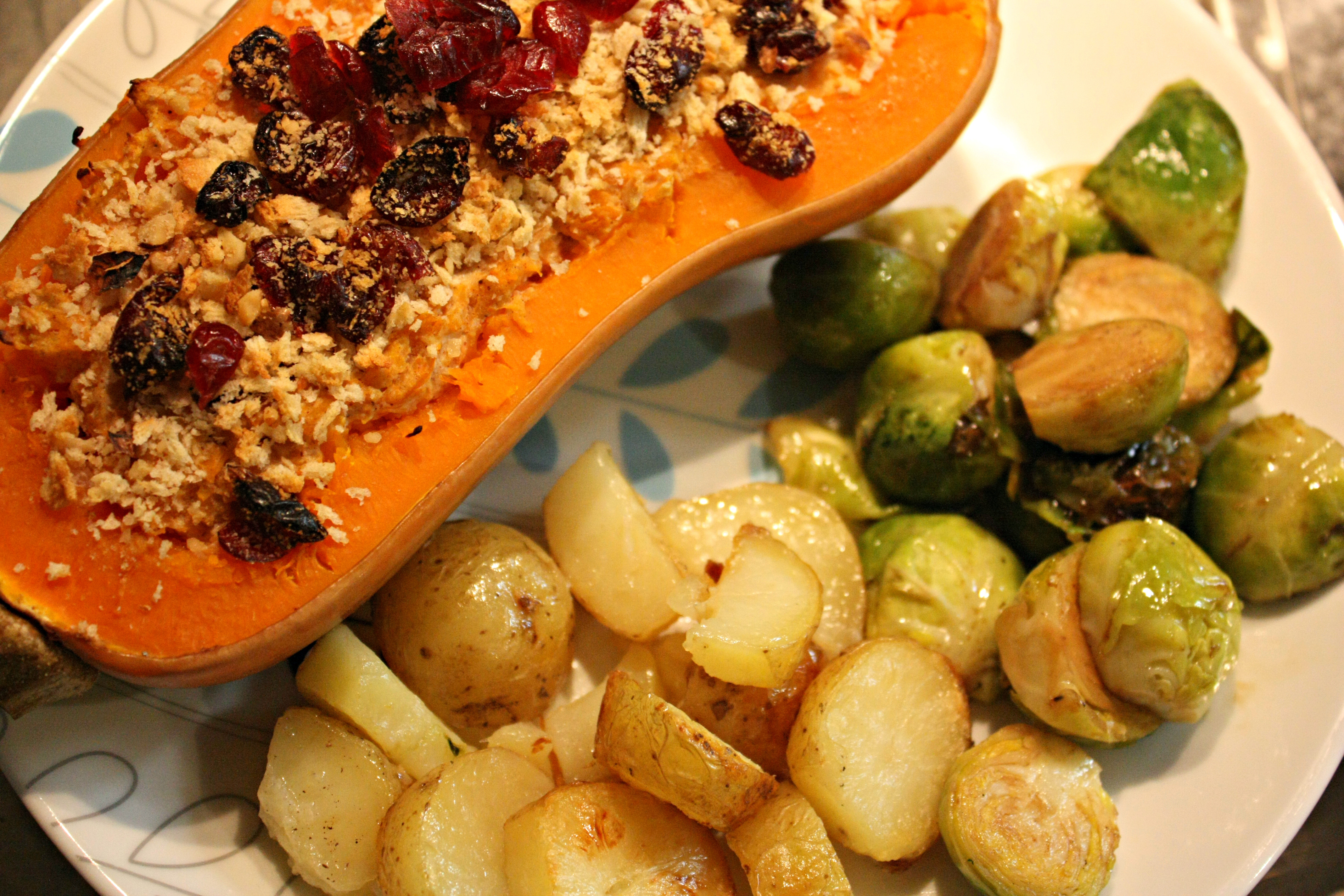 Recipe For Christmas Dinner  Christmas Dinner Recipe Twice Baked Butternut Squash with