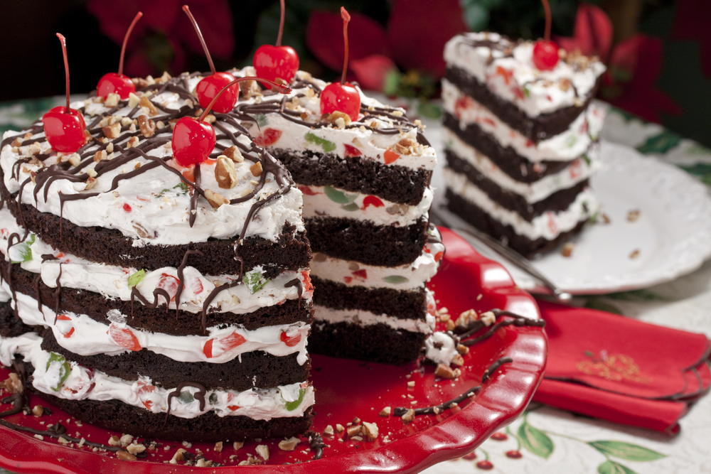 Recipes For Christmas Desserts  Jingle Bell Torte