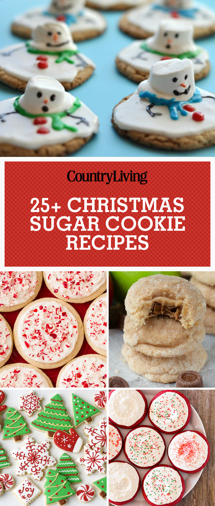 Recipes For Christmas Sugar Cookies  25 Easy Christmas Sugar Cookies Recipes & Decorating