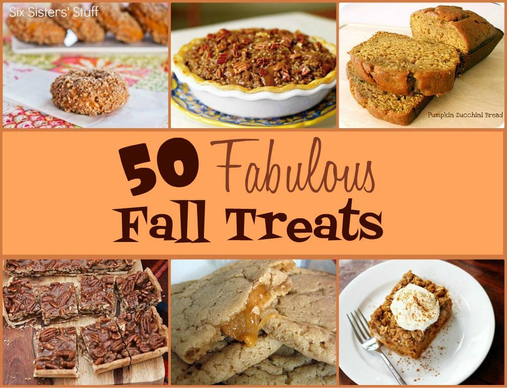 Recipes For Fall Desserts  50 Fabulous Fall Treats
