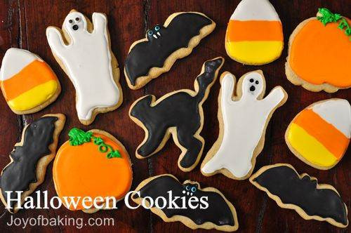 Recipes For Halloween Cookies  Halloween Cookies Recipe Joyofbaking Tested Recipe