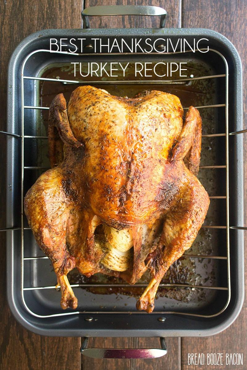 Recipes For Thanksgiving Turkey  Best Thanksgiving Turkey Recipe Yellow Bliss Road