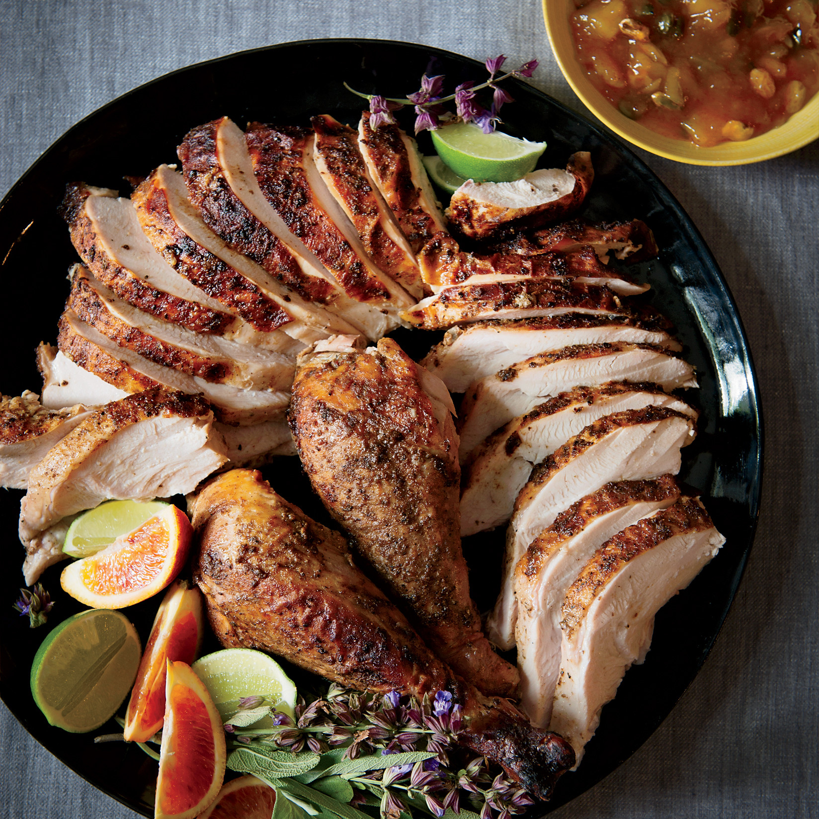 Recipes For Thanksgiving Turkey  Moroccan Spiced Turkey Recipe Marcus Samuelsson