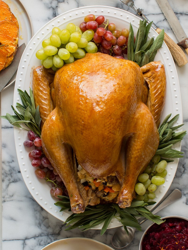 Recipes For Thanksgiving Turkey  Citrus and Herb Roasted Turkey Thanksgiving