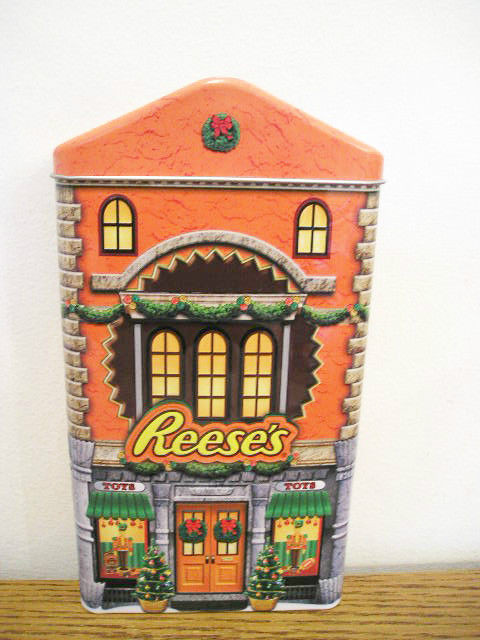 Reese'S Christmas Candy  Hershey Reese s Reese Christmas holiday tin toy store