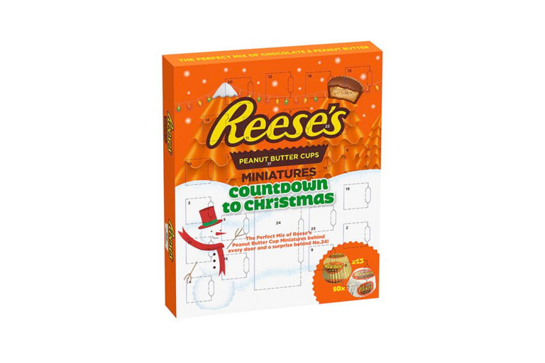 Reese'S Christmas Candy  Best Food Drink Advent Calendars for the Holidays