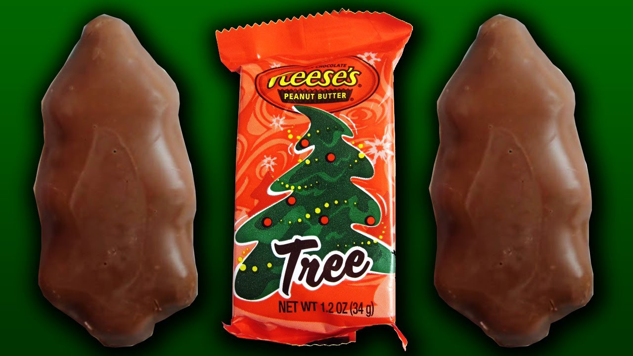 Reeses Christmas Tree Candy  Reese s Peanut Butter Christmas Tree