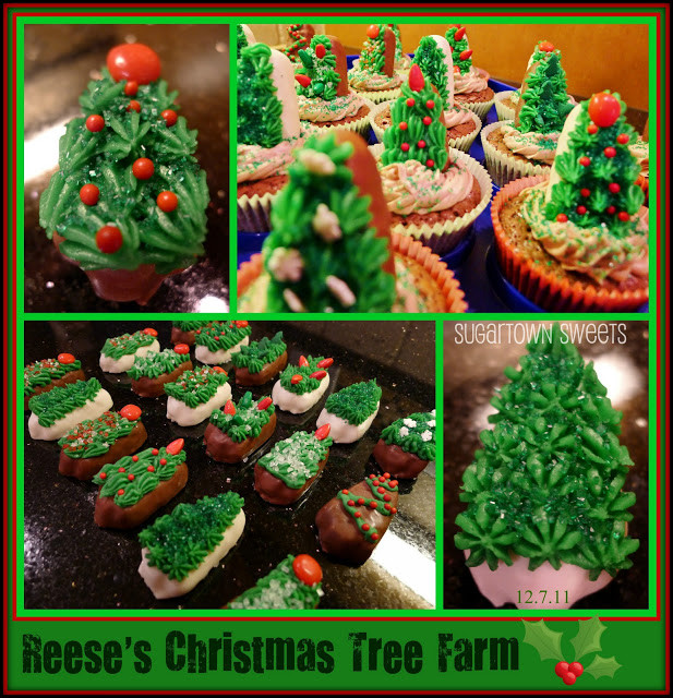 Reeses Christmas Tree Candy  Sugartown Sweets Reese s Christmas Tree Farm