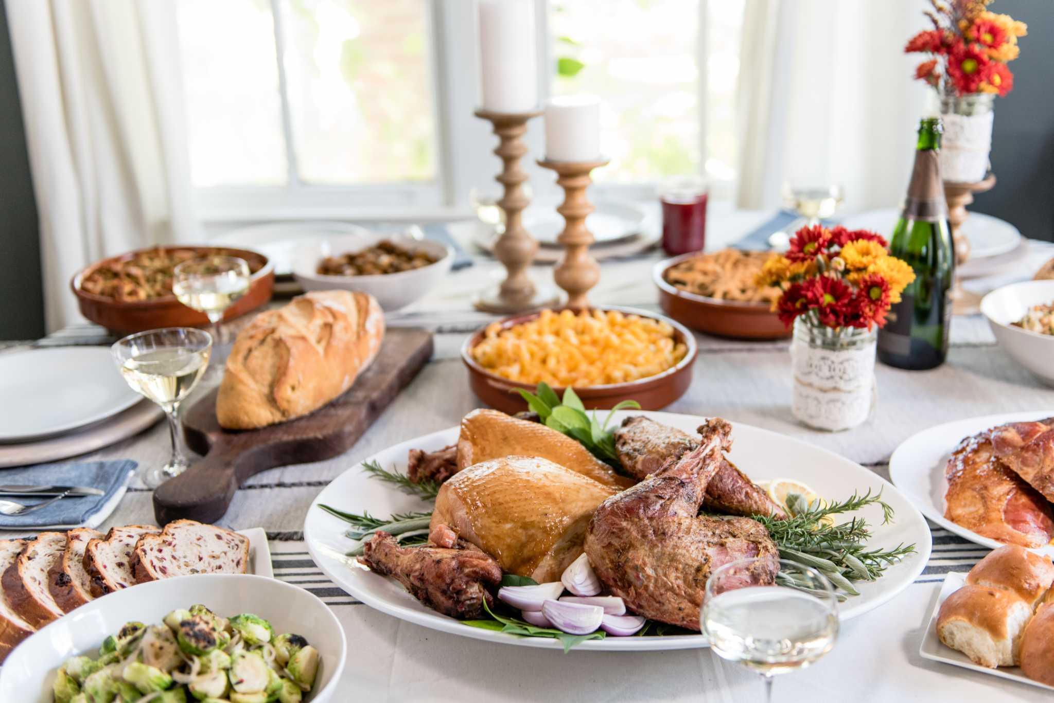 Restaurant Thanksgiving Dinner  Don t feel like cooking Order Thanksgiving dinner from