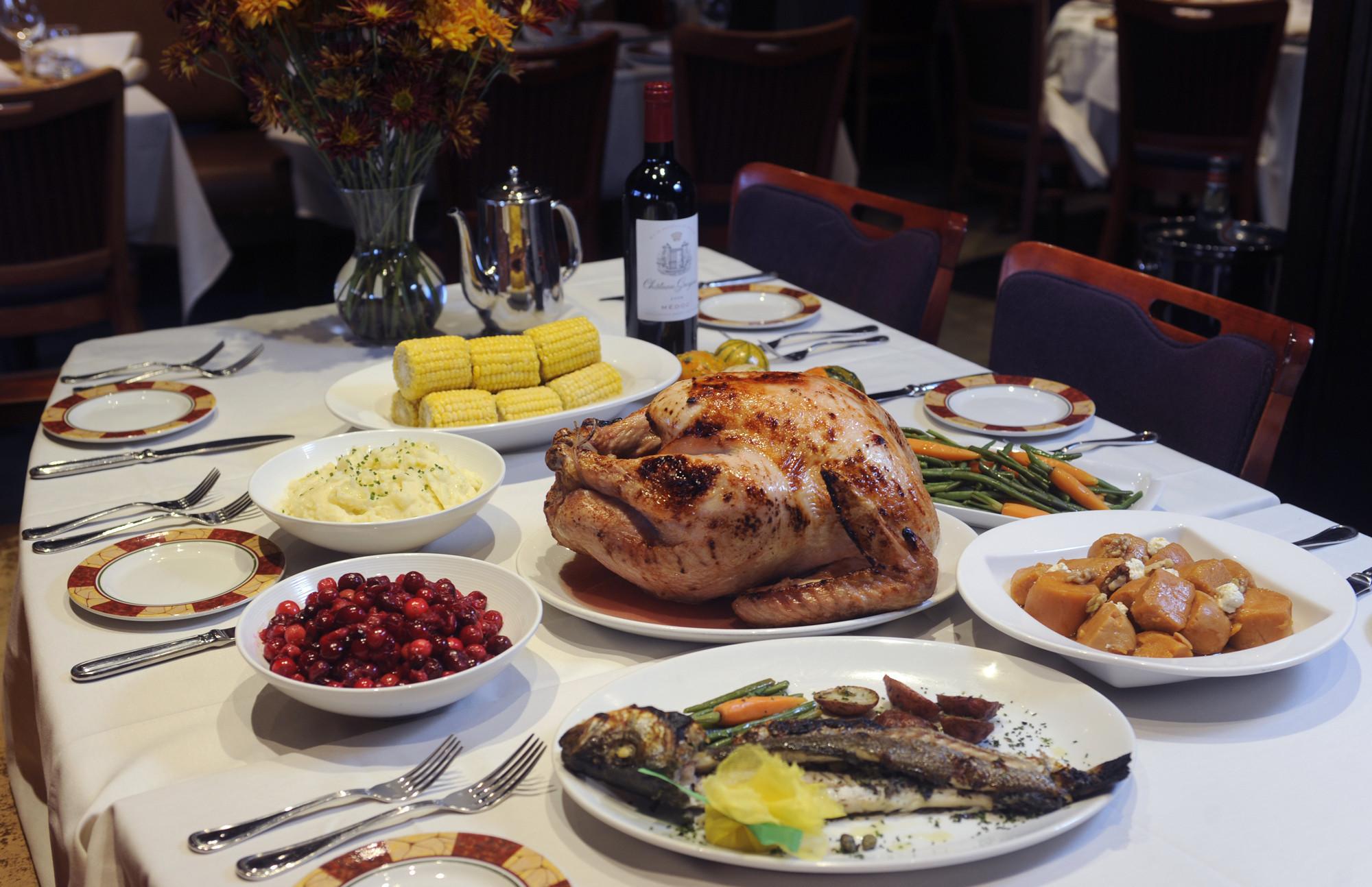 Restaurant Thanksgiving Dinner  10 great Thanksgiving dishes at Baltimore restaurants