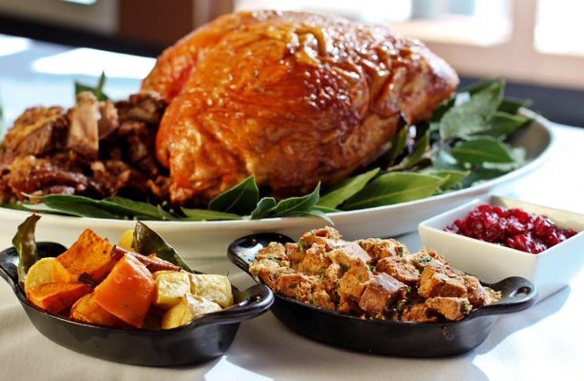 Restaurant Thanksgiving Dinner  Best Restaurants Open For Thanksgiving Dinner 2017 In Los