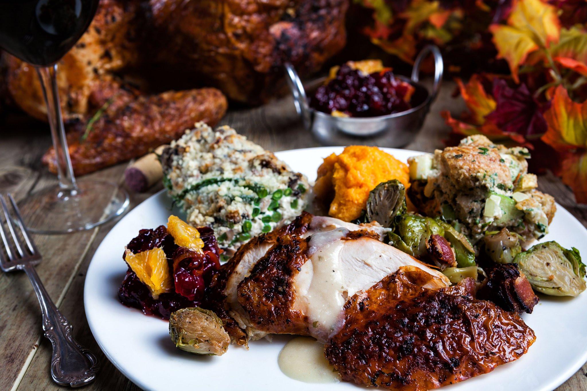 Restaurant Thanksgiving Dinner  Thanksgiving dining southern Palm Beach County picks