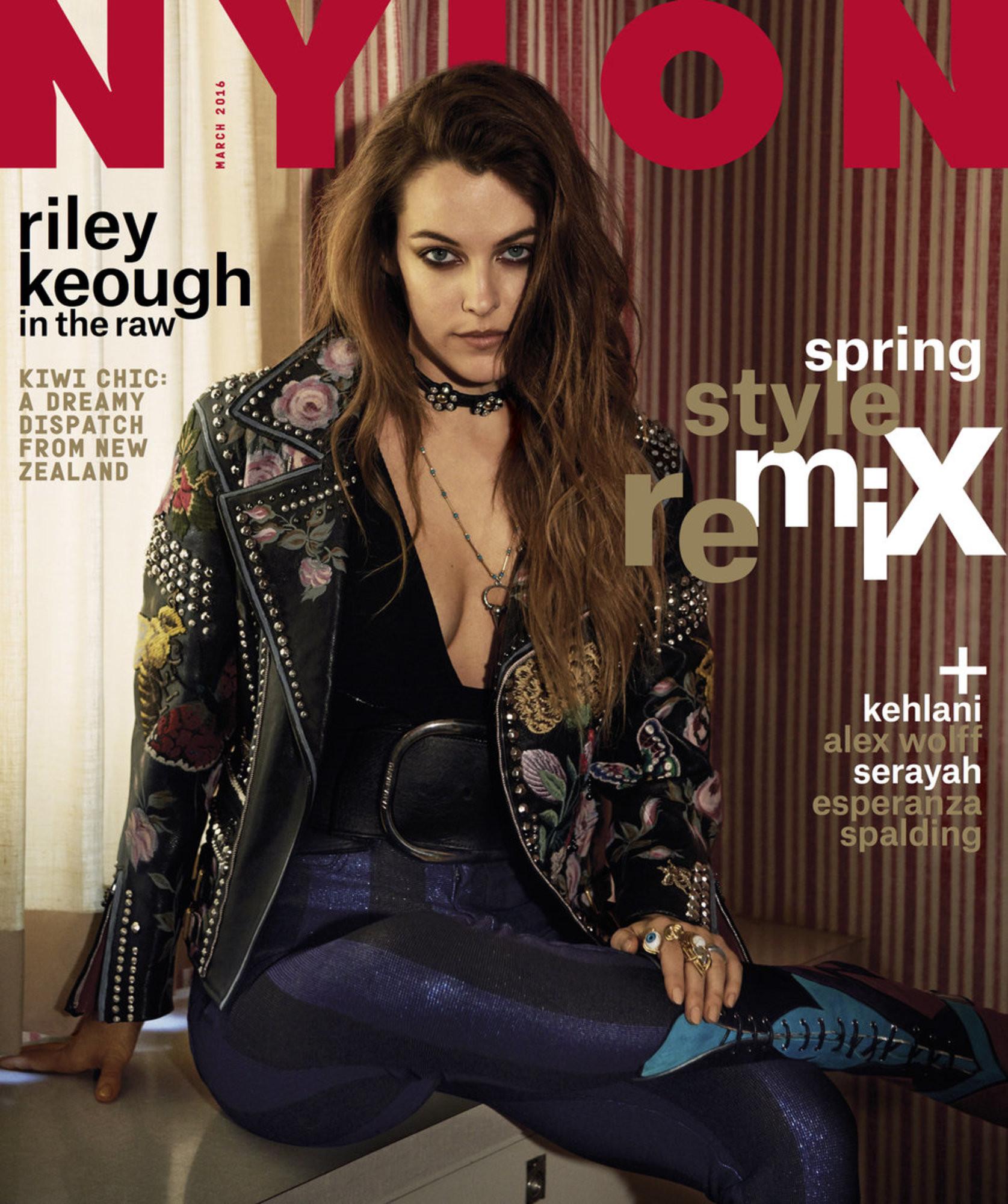 Riley Reid Christmas Cookies  Riley Keough NYLON March Cover Star NYLON