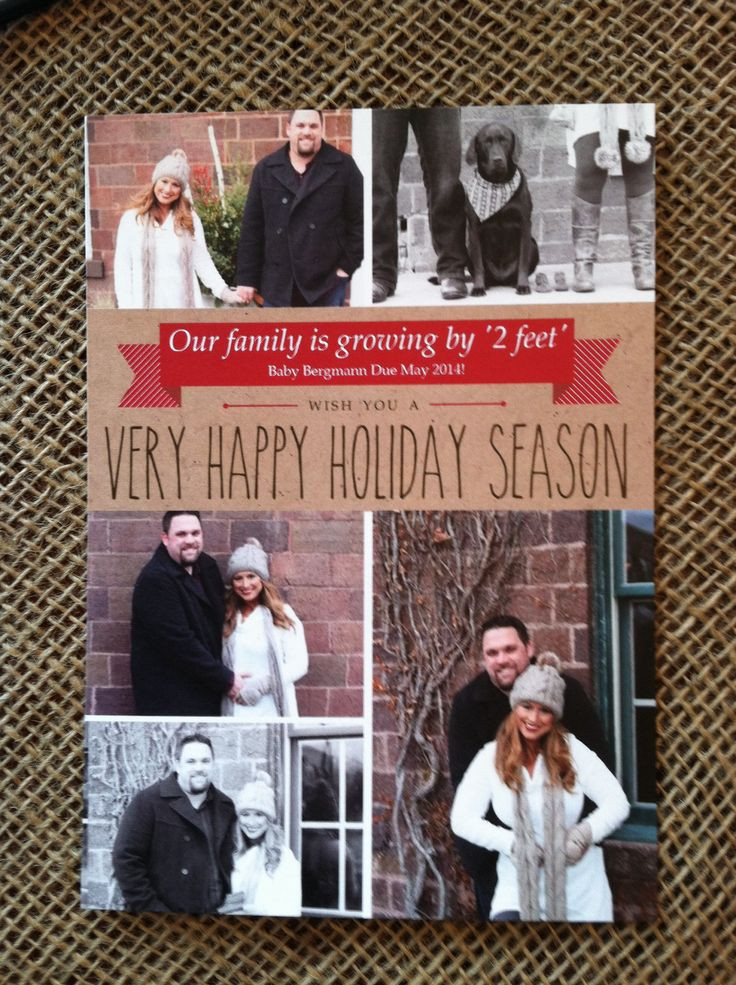 Riley Reid Christmas Cookies  Best 25 Holiday pregnancy announcement ideas on Pinterest