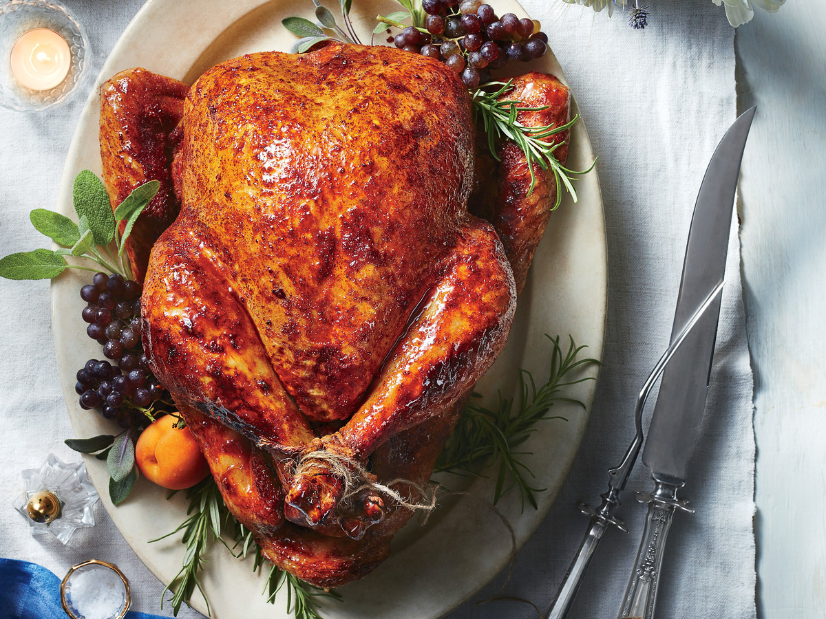 Roasted Turkey Recipes Thanksgiving  Sweet and Spicy Roast Turkey Recipe Southern Living