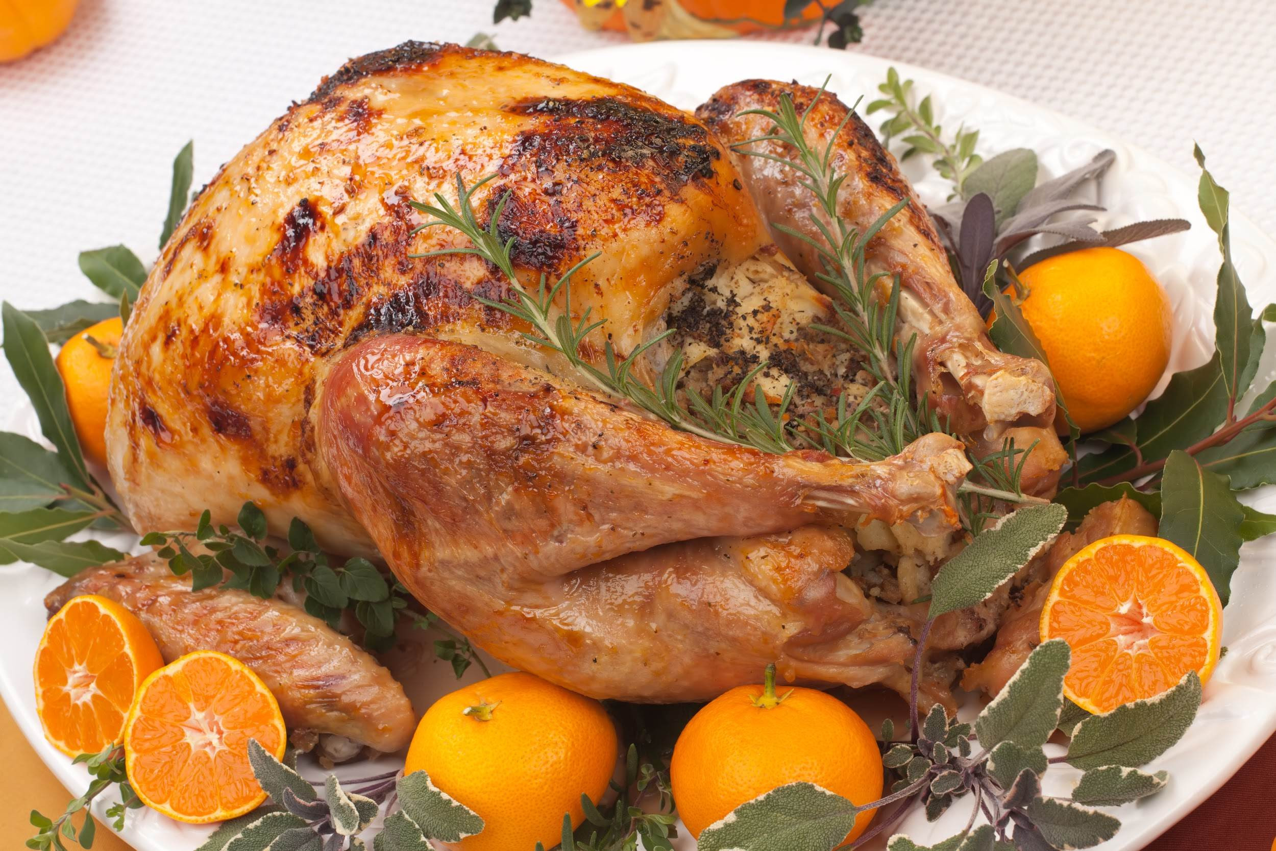 Roasted Turkey Recipes Thanksgiving  Whole Citrus Roasted Turkey Recipe Paleo Plan