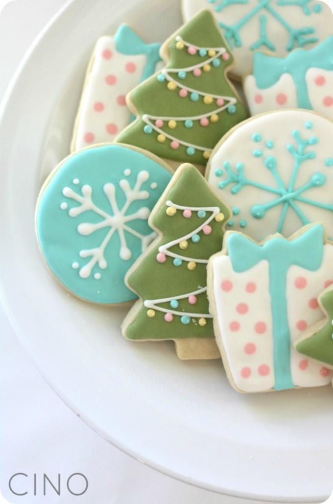 Royal Icing Christmas Cookie  7 Christmas Sugar Cookies
