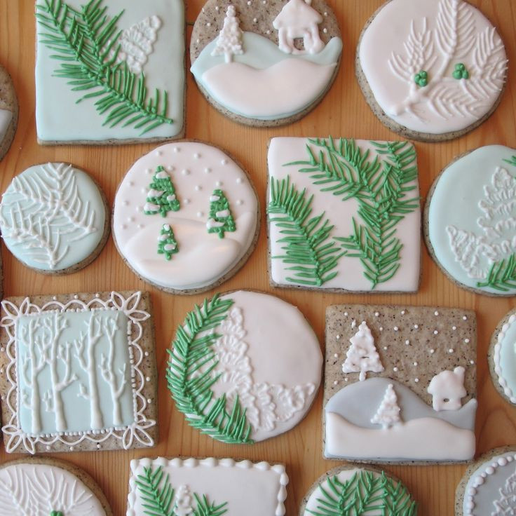 Royal Icing Christmas Cookie  25 best Christmas tree cookies ideas on Pinterest