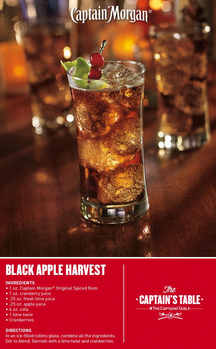 Rum Drinks For Fall  17 Best ideas about Spiced Rum Drinks on Pinterest