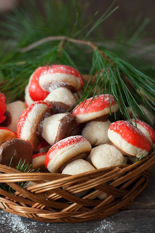 Russian Christmas Cookies  Christmas Cookies 1 Russian Mushroom Cookies