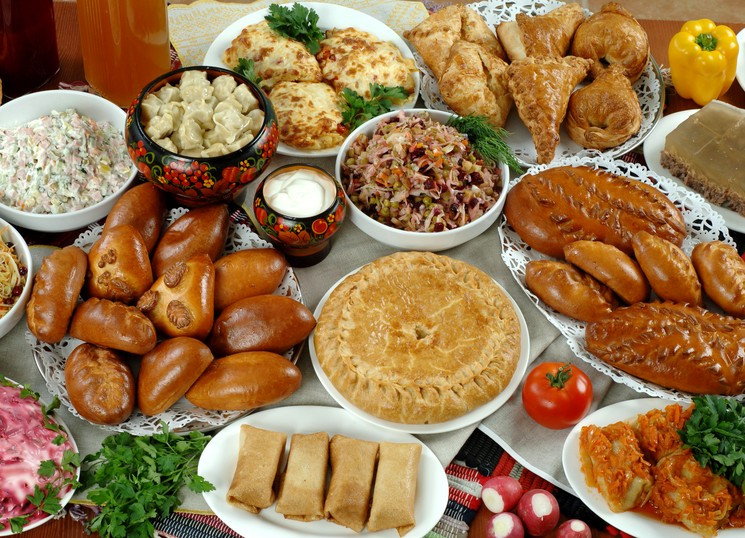 Russian Christmas Dinners  Christmas menu in 5 world countries Korea France Italy