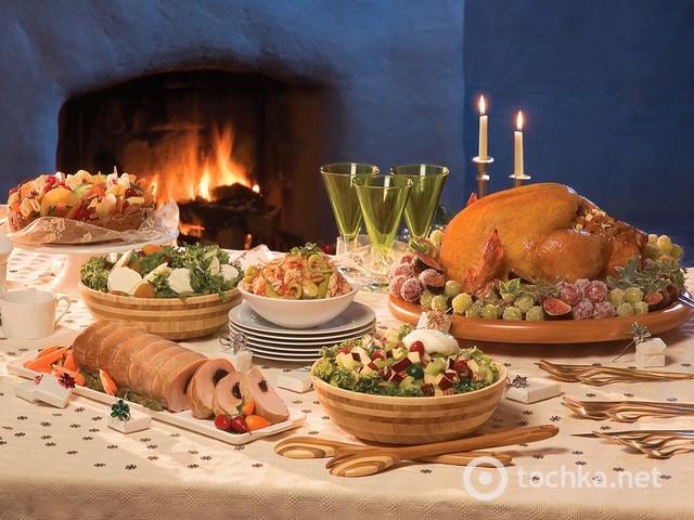 Russian Christmas Dinners  Russian Christmas dinner Merry Christmas