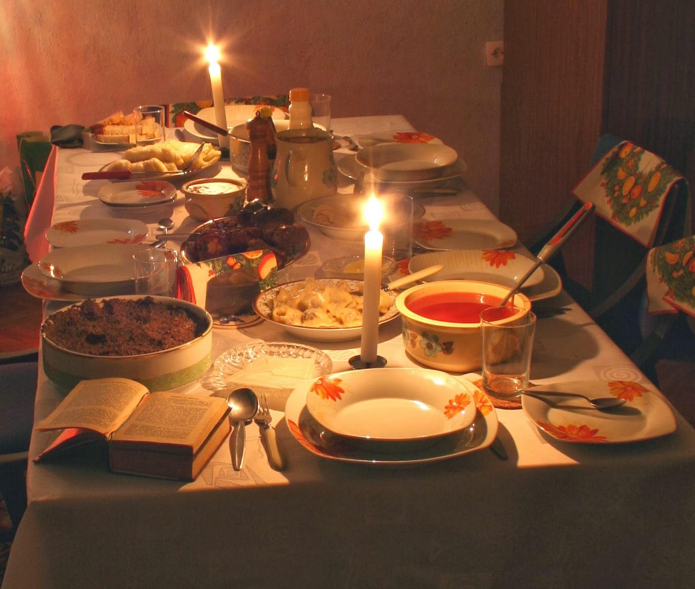Russian Christmas Dinners  Living Orthodox Traditions Russian Christmas Eve Supper