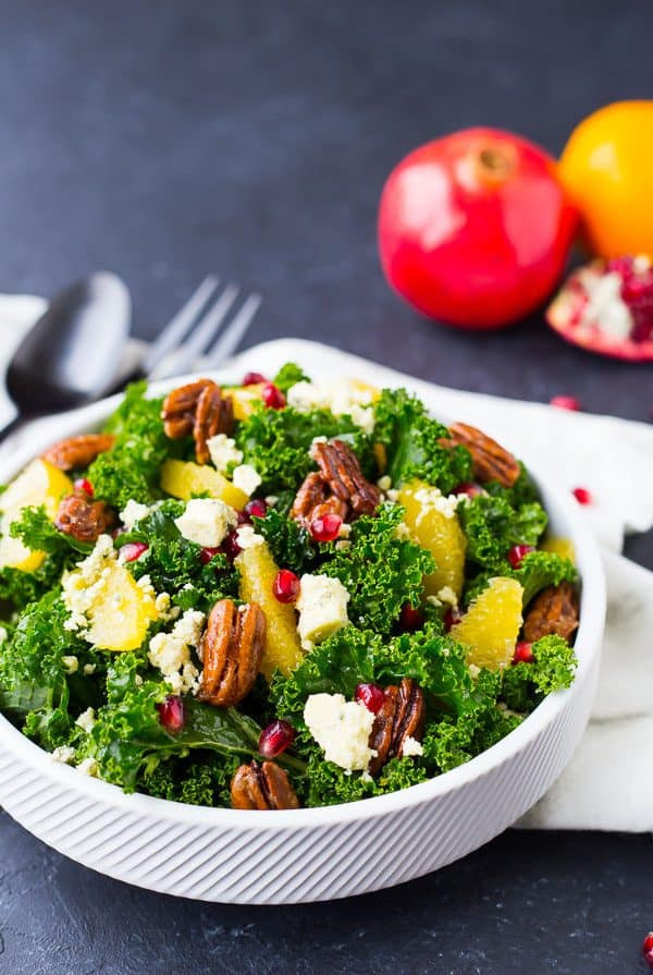 Salads For Christmas  Christmas Salad Recipe with Pomegranate and Pecans