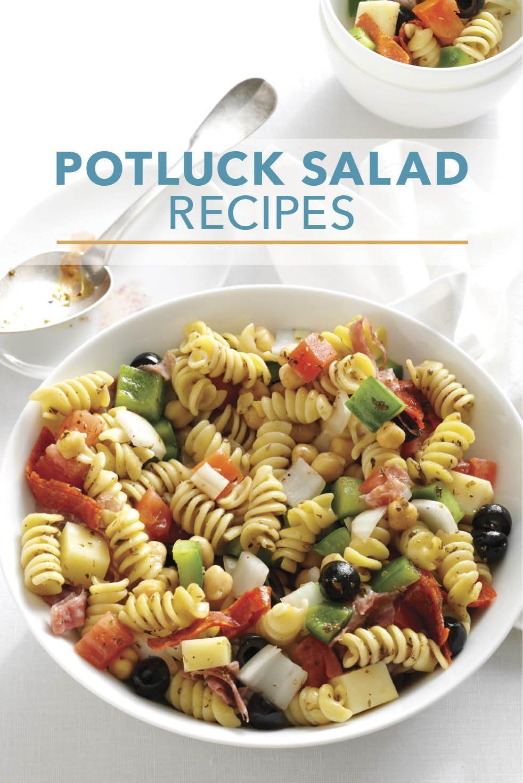 Salads For Thanksgiving Potluck  50 Potluck Ready Salad Recipes in 2019