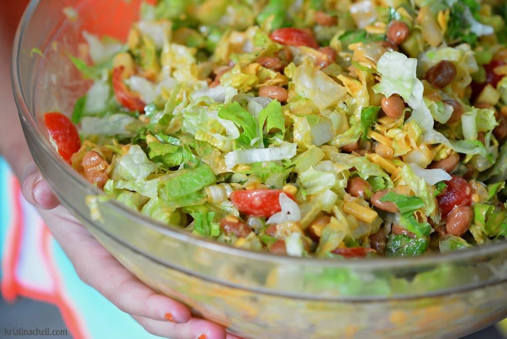 Salads For Thanksgiving Potluck  Potluck Fiesta Bean Salad Kristin Schell