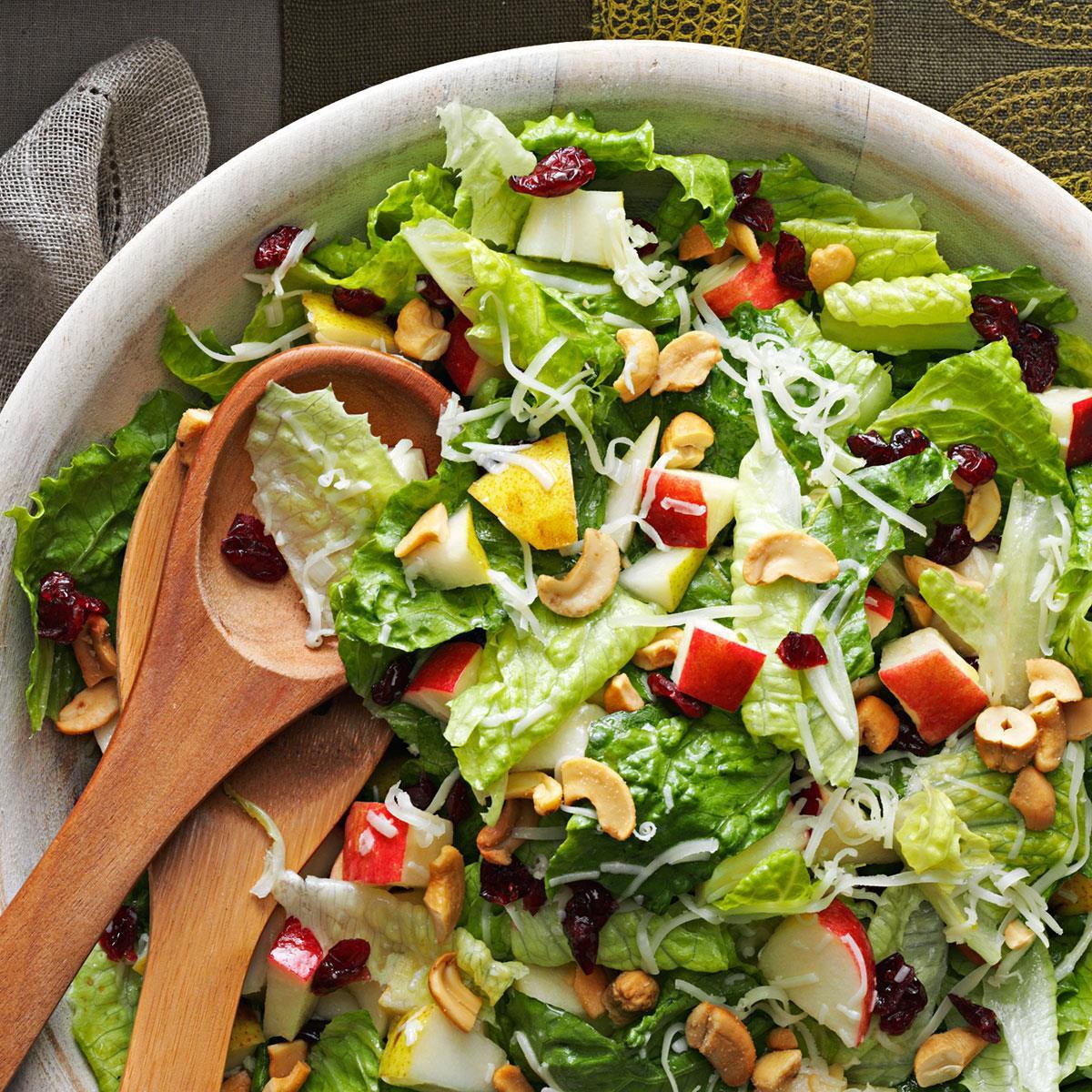 Salads For Thanksgiving Potluck  Holiday Lettuce Salad Recipe