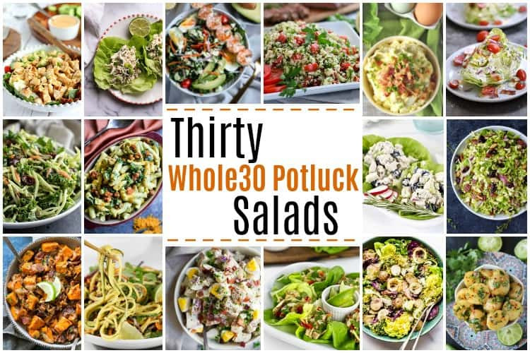 Salads For Thanksgiving Potluck  30 Whole30 Potluck Salads The Real Food Dietitians