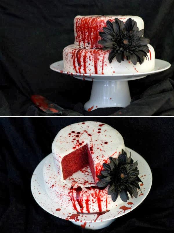 Scarey Halloween Cakes  25 Weird Creepy Spooky and Scary Halloween Cakes