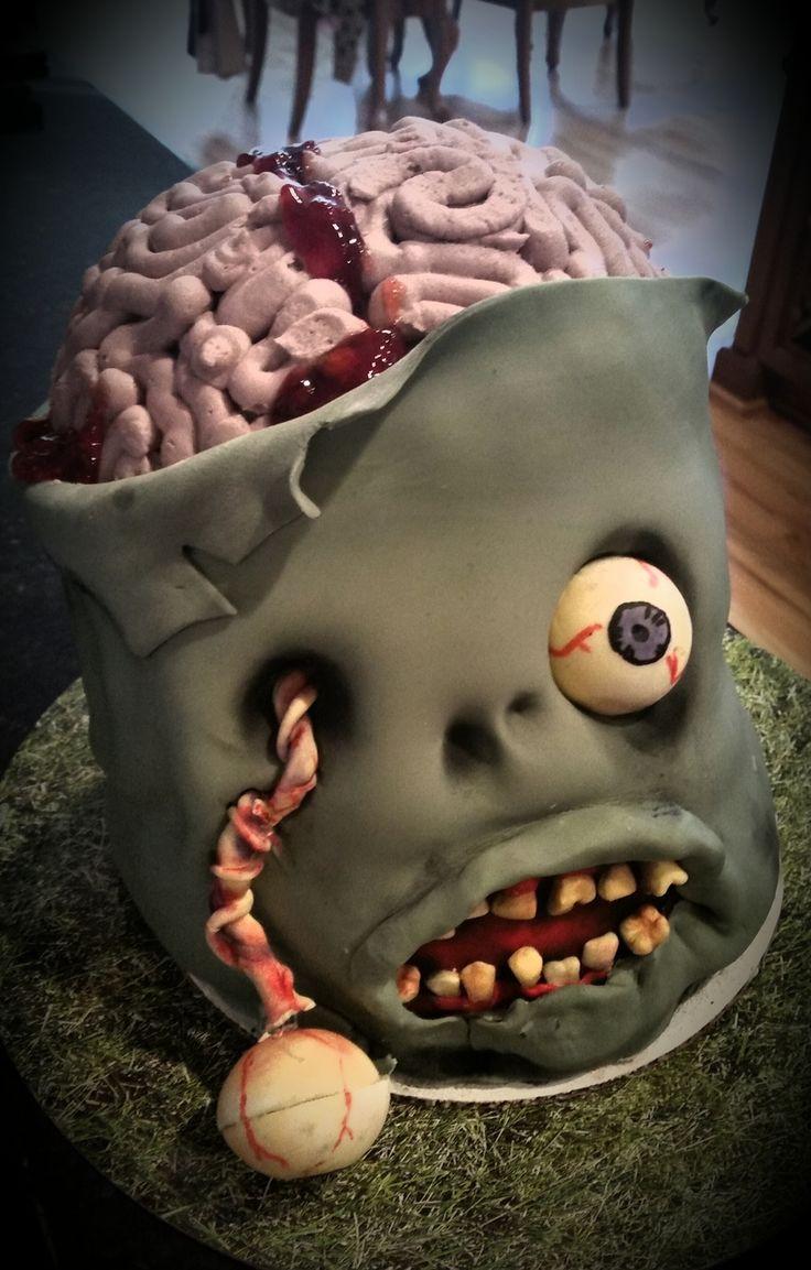 Scarey Halloween Cakes  Best 25 Scary cakes ideas on Pinterest