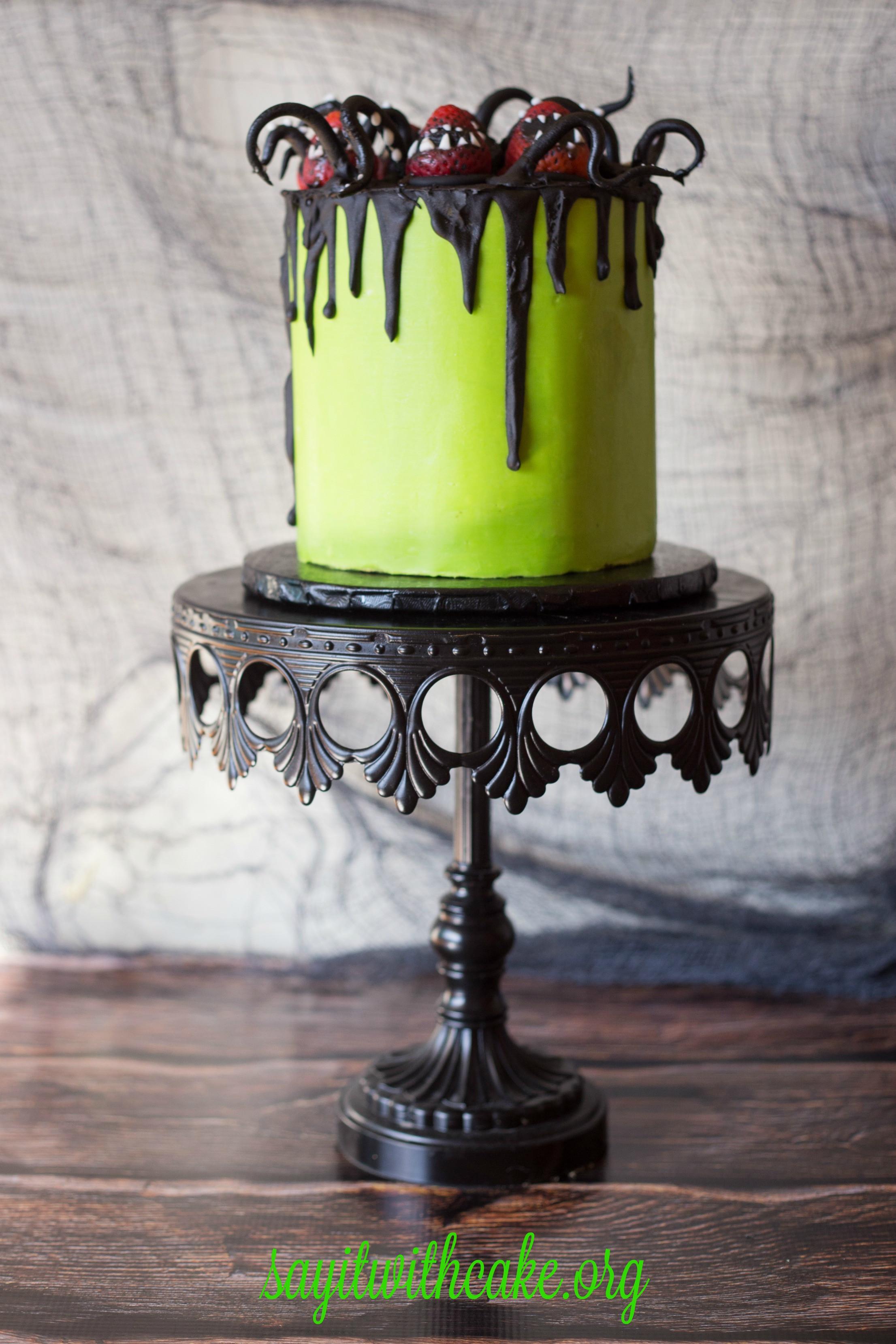 Scary Halloween Cakes  Creepy Halloween Cake – Say it With Cake
