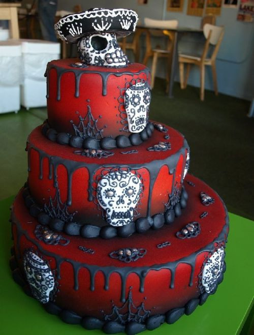 Scary Halloween Cakes  Cake birthday ideas Cake birthday party Cake birthday