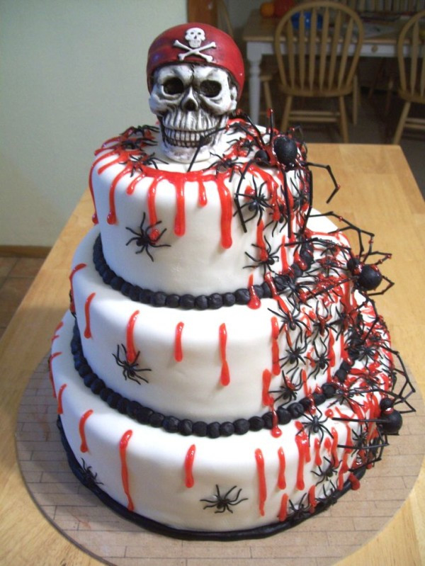 Scary Halloween Cakes  20 Incredible Halloween Cakes That Are Deliciously Spooky