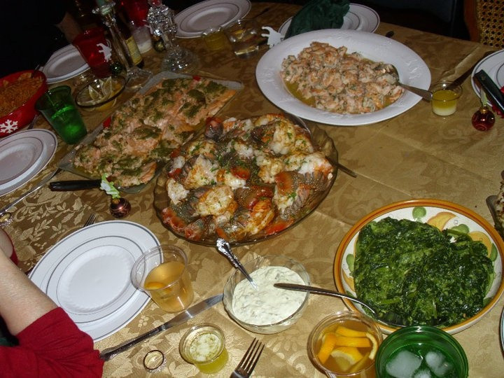 Seafood Christmas Dinners  Christmas eve Italian seafood dinner Sea food