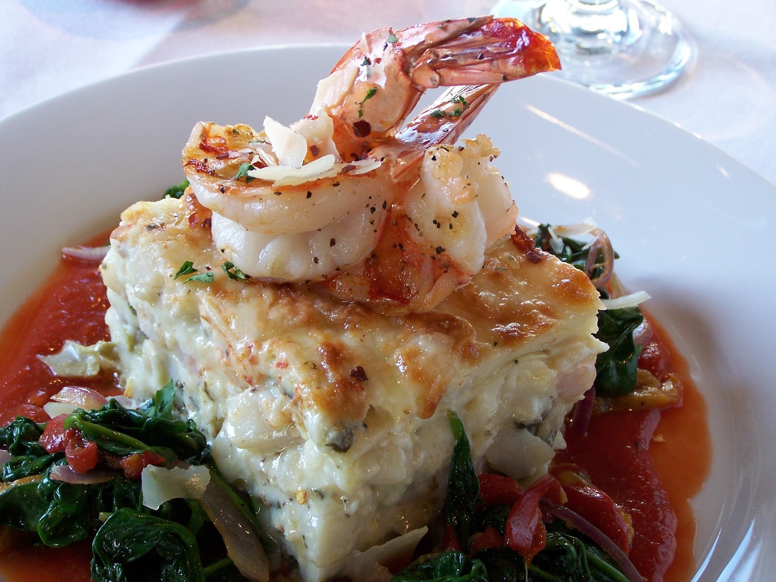 Seafood Christmas Dinners  Tracy Reifkind s Training Food and Thought Christmas