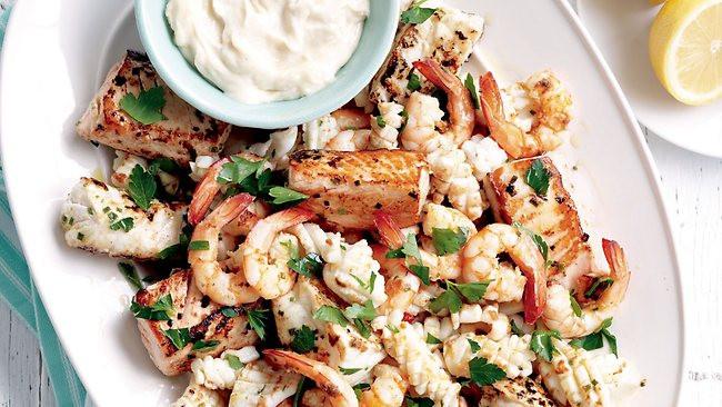 Seafood Christmas Dinners  Hooked on Christmas Seafood feast