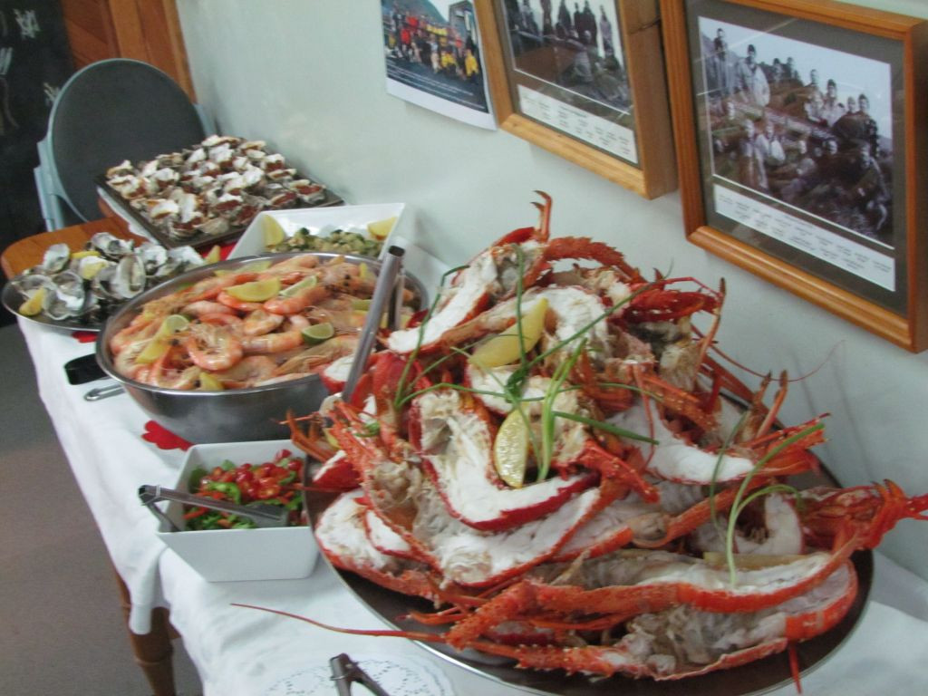 Seafood Christmas Dinners  Christmas at Macca — Australian Antarctic Division