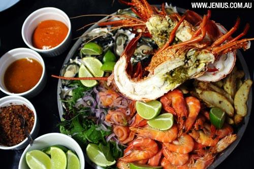 Seafood Christmas Dinners  Christmas at home