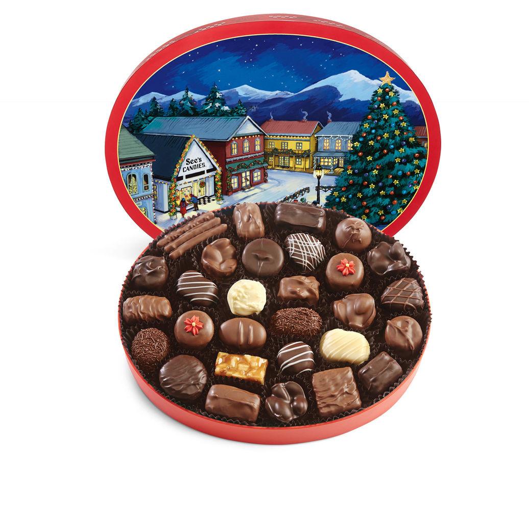 Sees Christmas Candy  Christmas Memories Box