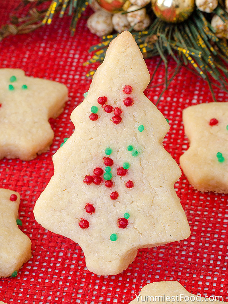Shortbread Christmas Cookies Recipes  Christmas Shortbread Cookies Recipe from Yummiest Food