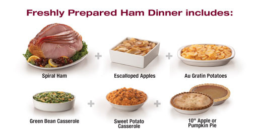 Side Dishes For Christmas Ham  Tops Friendly Markets Tops Departments