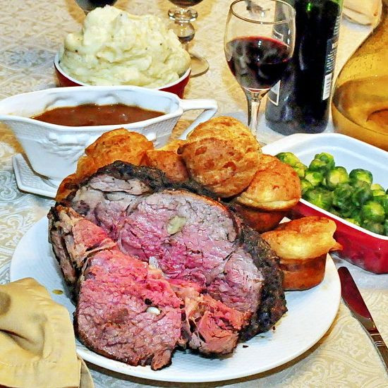 Side Dishes For Prime Rib Dinner Christmas  Smoky Spice Garlic Prime Rib with Side Dishes