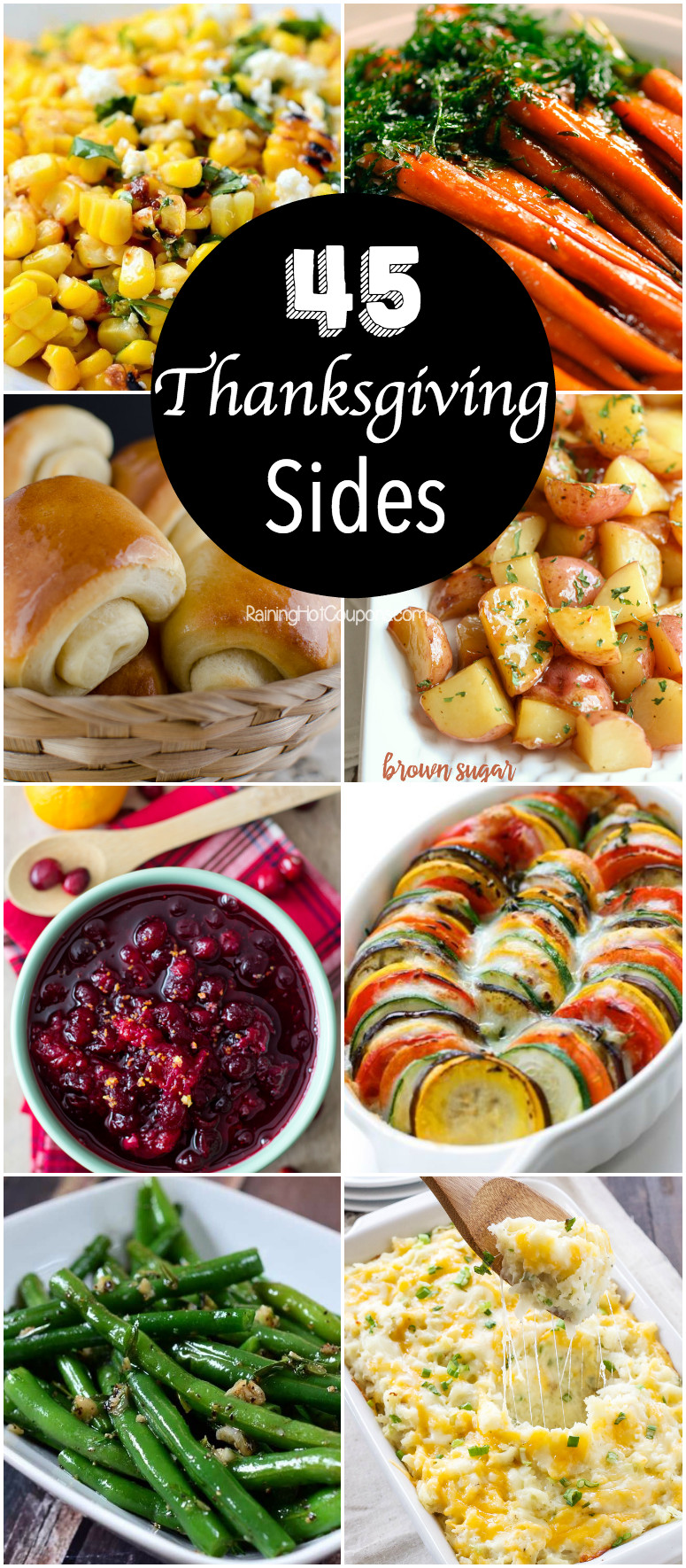 Side Dishes For Thanksgiving Dinner  45 Thanksgiving Side Dishes
