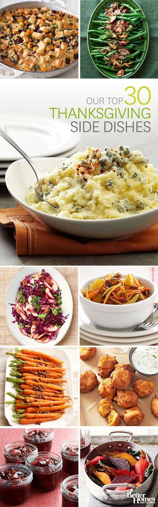 Side Dishes For Thanksgiving Dinner  Make Ahead Holiday Side Dishes