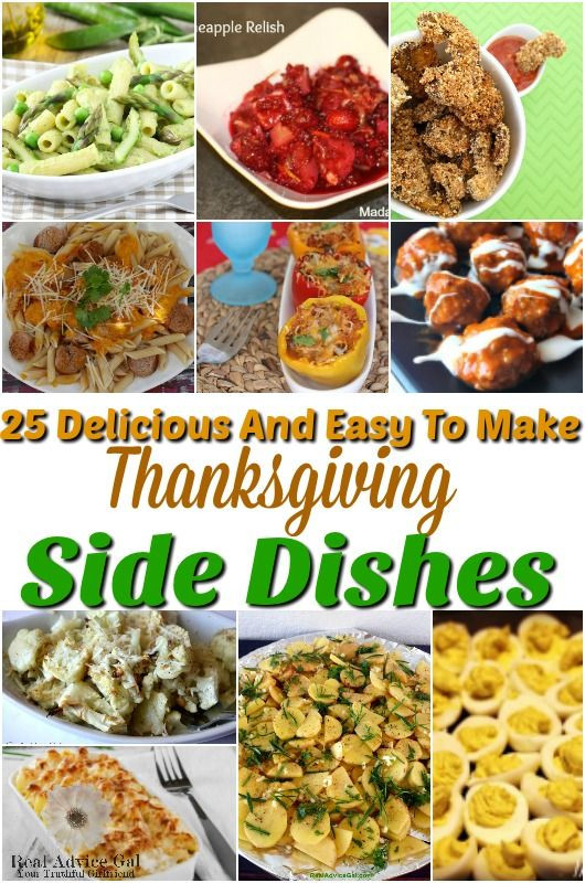 Side Dishes For Thanksgiving Easy  223 best images about Holidays Crafts Recipes & Fun on