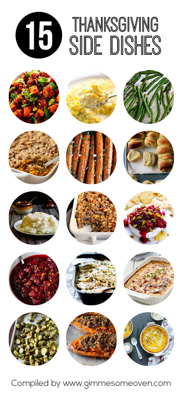 Side Dishes For Thanksgiving Easy  15 Thanksgiving Side Dishes